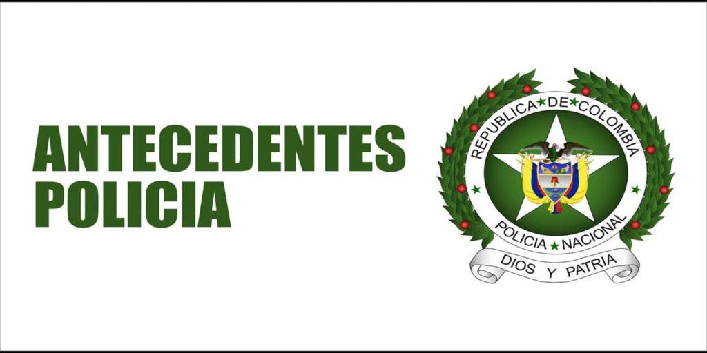 antecedentes policia colombia